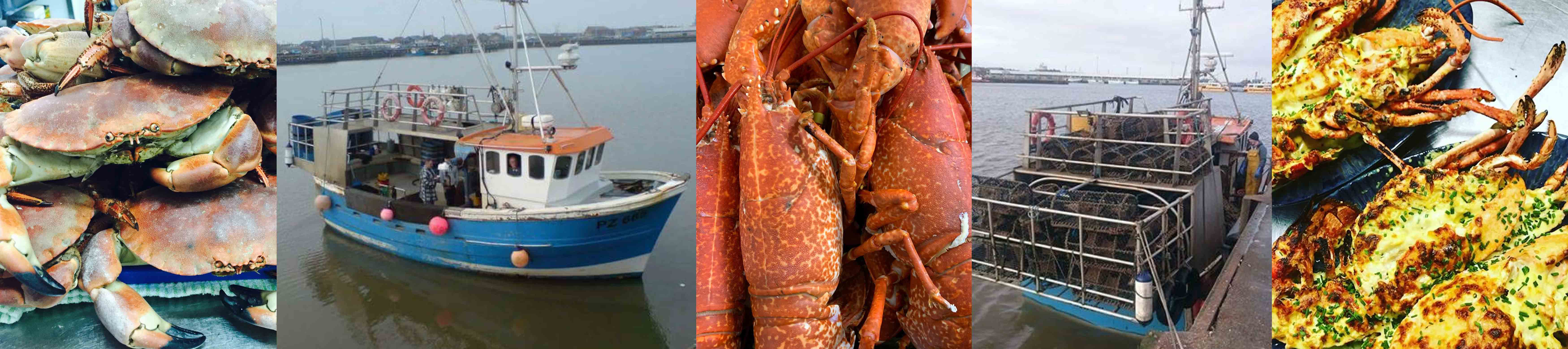 Whitehouses Inn Retford select the best crab and lobster fresh off the boat